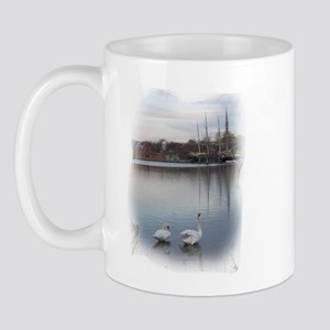 Seaport Swans --  Mug