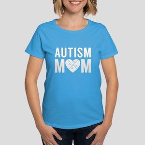 Autism Mom Women's Dark T-Shirt