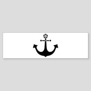 Navy anchor Sticker (Bumper)