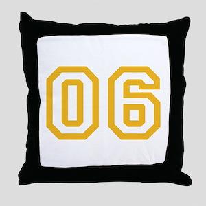 ONENINE06 Throw Pillow