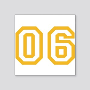 "ONENINE06 Square Sticker 3"" x 3"""
