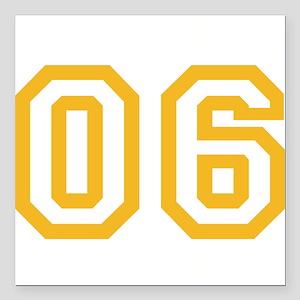 """ONENINE06 Square Car Magnet 3"""" x 3"""""""