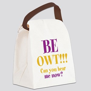 BE OWT!! Canvas Lunch Bag