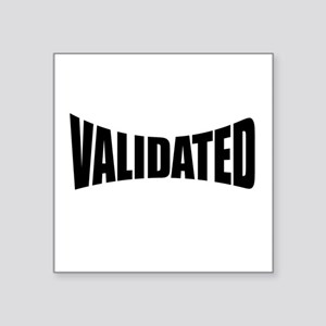 Validated Sticker