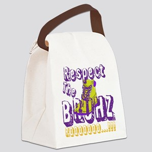 Respect the Bruhz Canvas Lunch Bag