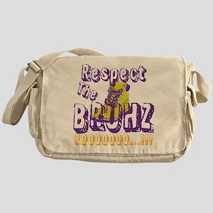 Respect the Bruhz Messenger Bag