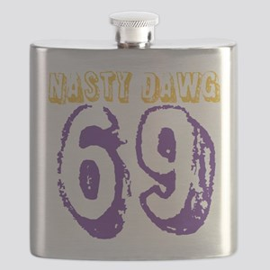 Respect The Bruhz Flask