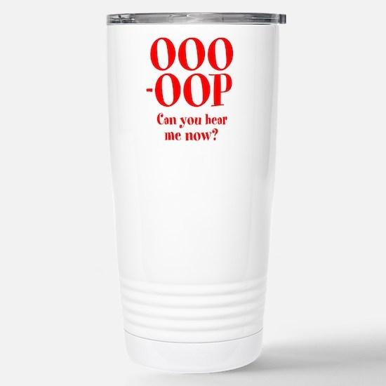 OOO-OOP Stainless Steel Travel Mug