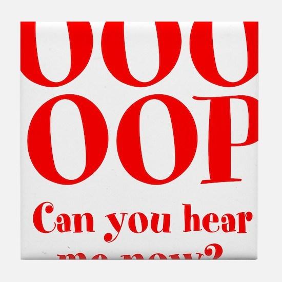OOO-OOP Tile Coaster
