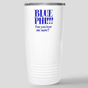 Blue Phi!! Stainless Steel Travel Mug