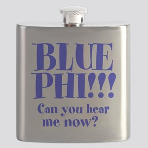 Blue Phi!! Flask
