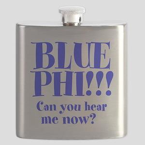 Blue Phi!! Flask