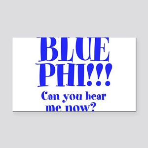 Blue Phi!! Rectangle Car Magnet