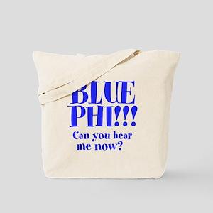 Blue Phi!! Tote Bag
