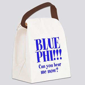 Blue Phi!! Canvas Lunch Bag