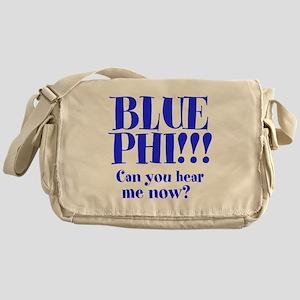 Blue Phi!! Messenger Bag
