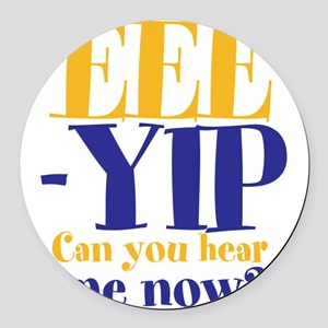 EEE-YIP Round Car Magnet