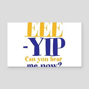 EEE-YIP Rectangle Car Magnet