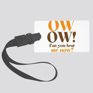 OW OW! Large Luggage Tag