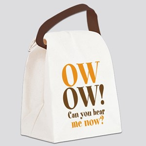 OW OW! Canvas Lunch Bag