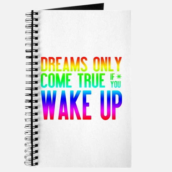 Dreams Come True (rainbow) Journal