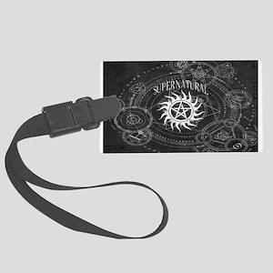 Supernatural Black Luggage Tag