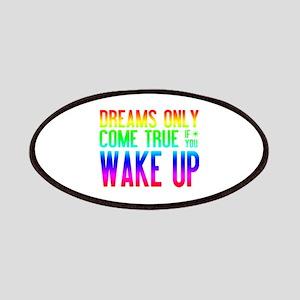 Dreams Come True (rainbow) Patches