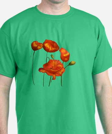 Poppies (orange) T-Shirt