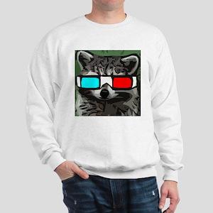 3D raccoon Sweatshirt