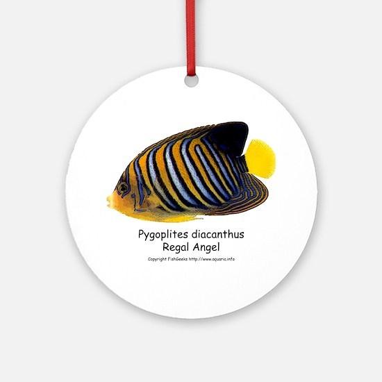 Regal Angel Ornament (Round)