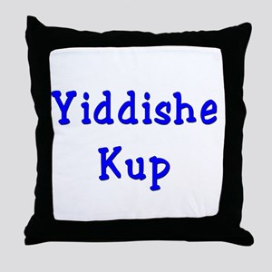 Yiddishe Kup Throw Pillow