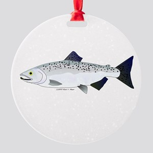 Chinook King Salmon f Ornament