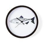Chinook King Salmon f Wall Clock