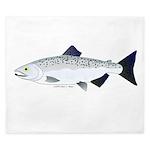 Chinook King Salmon f King Duvet