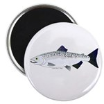 Chinook King Salmon f Magnet