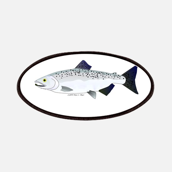 Chinook King Salmon f Patches