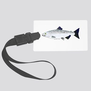 Chinook King Salmon f Luggage Tag