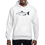 Chinook King Salmon Sea c Hoodie