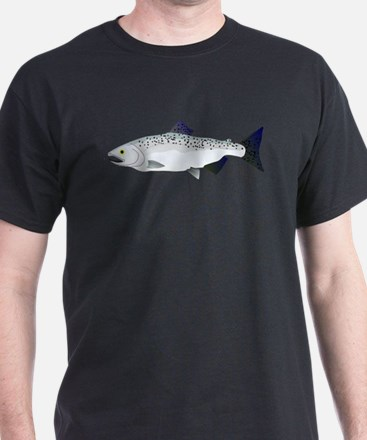 Chinook King Salmon Sea c T-Shirt