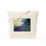 Conrail Office Car Train Tote Bag