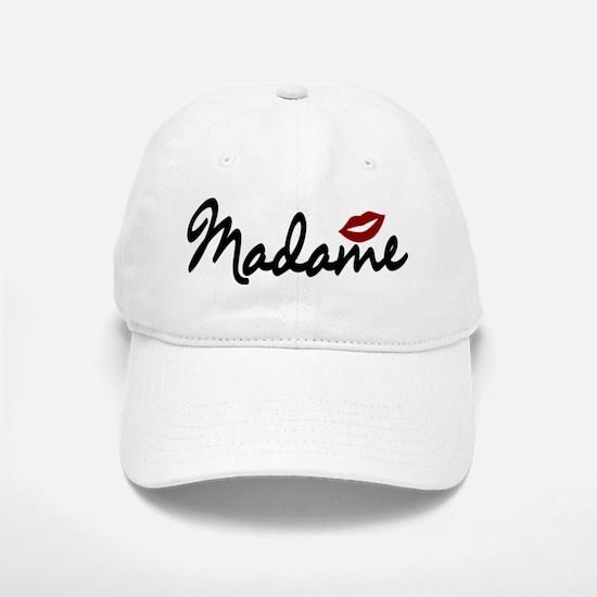 Madame Lips Baseball Baseball Baseball Cap