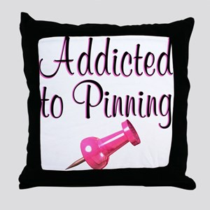 AWESOME PINNER Throw Pillow