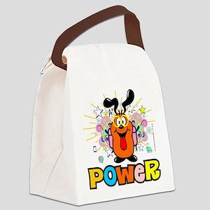 Los Kitos Power Tote Bag Canvas Lunch Bag