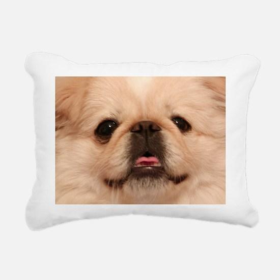 Tater Face Large Rectangular Canvas Pillow