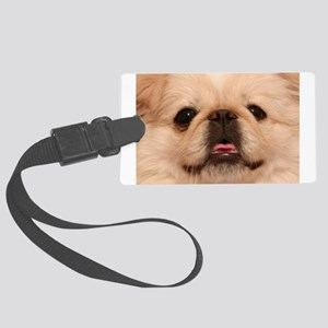 Tater Face Large Luggage Tag