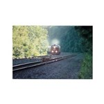 Conrail Office Car Train Rectangle Magnet (10 pack