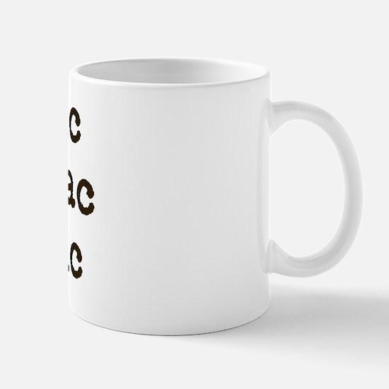 dyslexic insomniac agnostic Mug