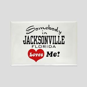 Somebody In Jacksonville Florida Loves Me Rectangl