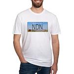North Dakota NDN Pride Fitted T-Shirt