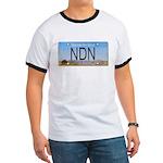 North Dakota NDN Pride Ringer T